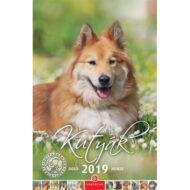 Falinaptár CSG 210x320mm álló Kutyák 2019.