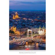 Falinaptár CSG 335x455mm álló Magyarország 2019.