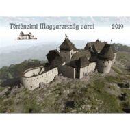 Falinaptár Toptimer T093 420x310mm fekvő Történelmi Magyarország várai 2019.