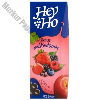 Gyümölcslé HEY-HO multivitamin 25%-os 0,2L