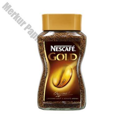 Kávé instant NESCAFE Gold üveges 100g