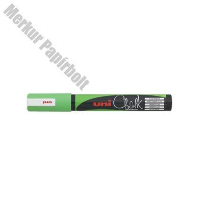 Folyékony kréta UNI PWE-5M fluor zöld