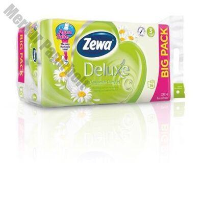 Toalettpapír ZEWA Deluxe 3 rétegű 16 tekercses Camomile