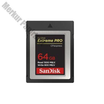 Memóriakártya SANDISK Extreme Pro CFExpress 64 GB