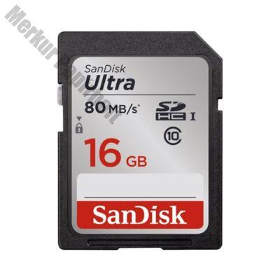 Memóriakártya SANDISK SDHC Ultra 16 GB
