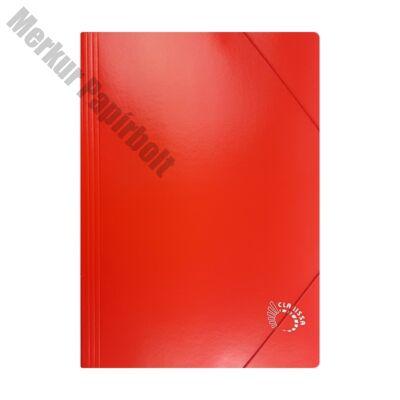 Gumis mappa CLARISSA A/4 papír 320 gr piros