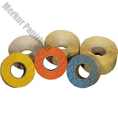 Árazószalag FORTUNA 32x19mm perforált fehér 10 tekercs/csomag