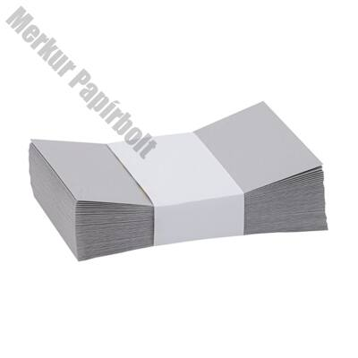 Névjegyboríték színes KASKAD enyvezett 70x105 mm 94 ezüst szürke 50 db/csomag
