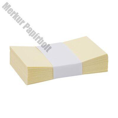 Névjegyboríték színes KASKAD enyvezett 70x105mm 55 sárga 50 db/csomag