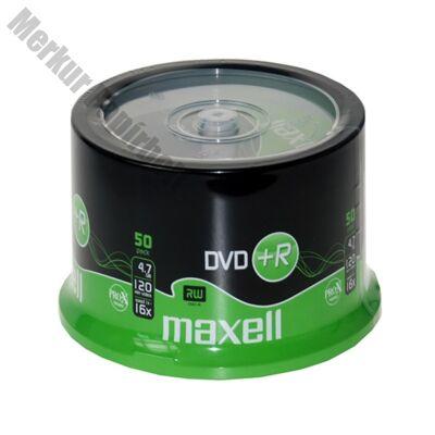 Írható DVD+R MAXELL 4,7GB 50 db/henger