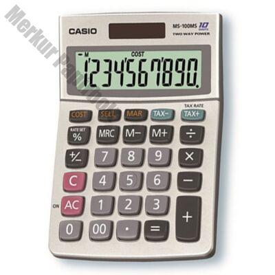 Számológép asztali CASIO MS-100B MS 10 digit