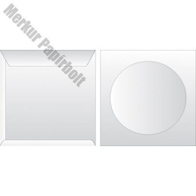 Boríték GPV CD enyvezett  125x125mm ablakos
