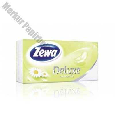 Papírzsebkendő ZEWA Deluxe 3 rétegű 90db-os Camomile