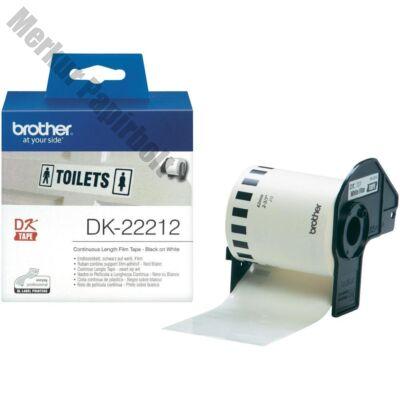 Filmszalag BROTHER DK-22212 62mmx15,24m fehér