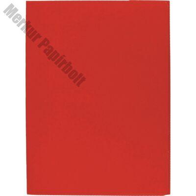 Iratgyűjtő OPTIMA A/4 400 gr piros
