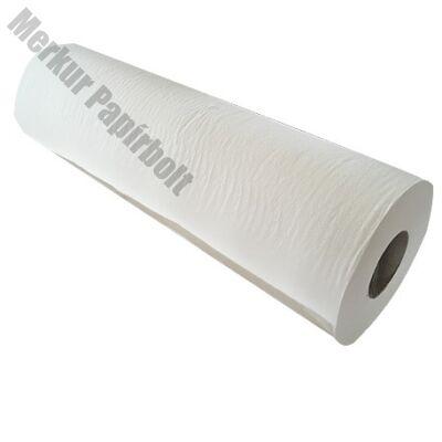 Orvosi lepedő tekercses 50  cm széles 2 rétegű 100% cellulóz ragasztott 50 cm x 50 m