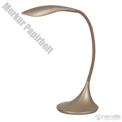 Asztali lámpa RÁBALUX Dominic 4167 LED 4,5W műanyag pezsgő