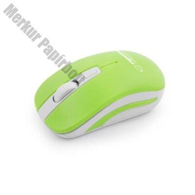 Egér ESPERANZA URANUS 4D vezeték nélküli fehér/zöld