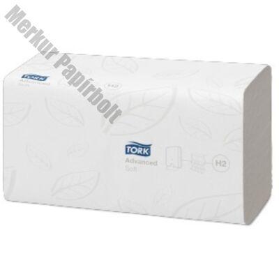 Kéztörlő TORK Xpress Soft Multifold Advanced H2 hajtogatású 2 rétegű fehér 180 lapos