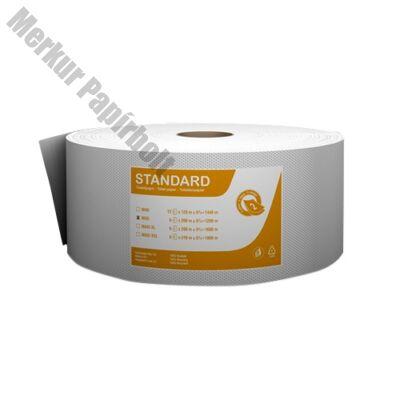 Toalettpapír Fortuna Standard Jumbo midi 23cm 180m 2 rétegű fehér 6 tekercs/csomag
