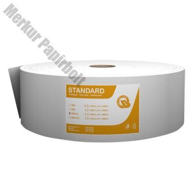 Toalettpapír FORTUNA Standard Jumbo maxi 26cm 250m 2 rétegű fehér 6/csom