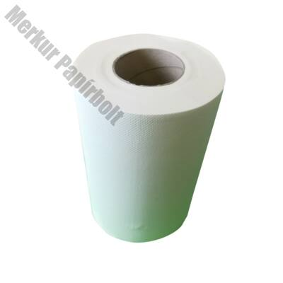 Kéztörlő tekercses FORTUNA Premium midi 14cm 60m 2 rétegű hófehér 222 lap 12/csom