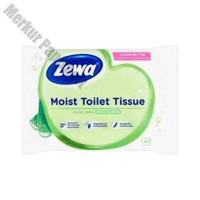Nedves toalettpapír ZEWA 42db-os Aloe Vera