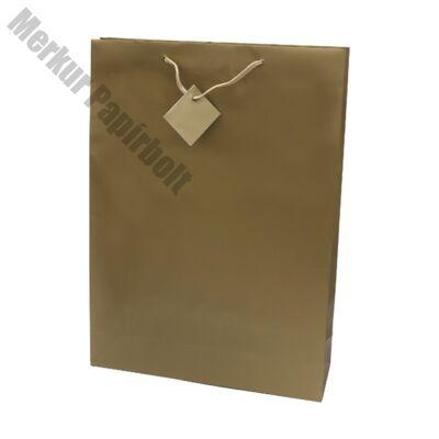Ajándéktasak Special Simple J 33x46x10 arany