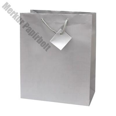 Ajándéktasak Special Simple L 26x32x12 ezüst