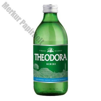 Ásványvíz szénsavas THEODORA üveges 0,33L