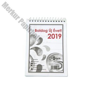 Asztali naptár Fortuna BA21 2019.