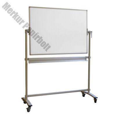 Átfordítható tábla mobil mágneses kétoldalas 100x150 cm magasság 185 cm Memoboards