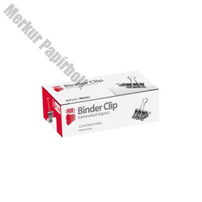 Binder csipesz ICO 19mm 12 db/doboz