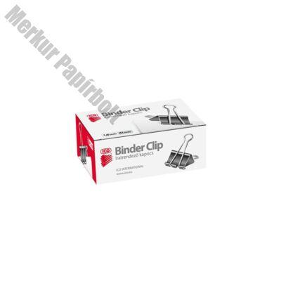Binder csipesz ICO 41mm 12db/doboz