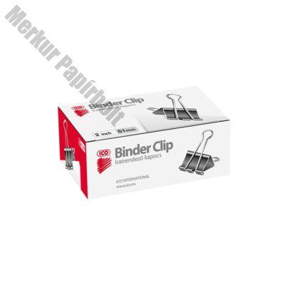 Binder csipesz ICO 51mm 12 db/doboz
