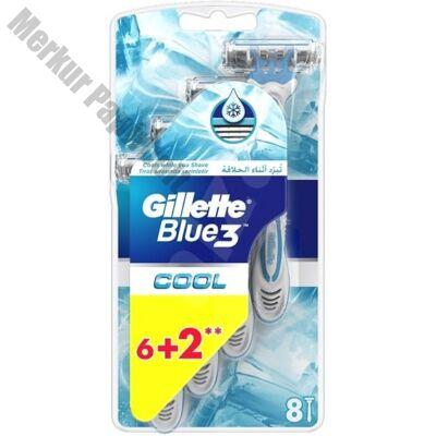 Borotva GILLETTE Blue3 Cool 3 pengés 8 db