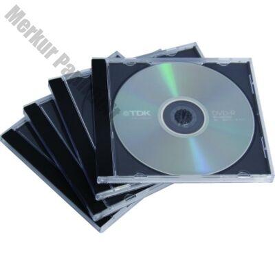 CD-tok Fellowes normál fekete 1 lemez