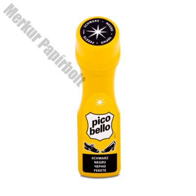Cipőápoló PICO BELLO Gyorsfény fekete 60 ml