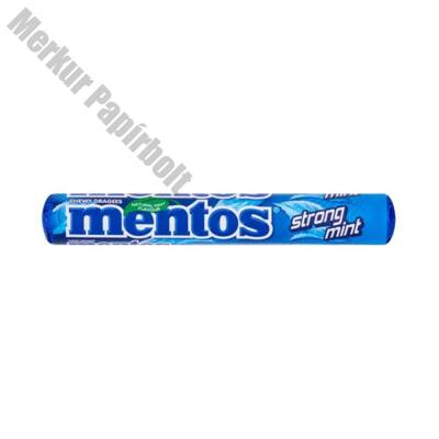 Cukordrazsé MENTOS Mint extra mentol 38g