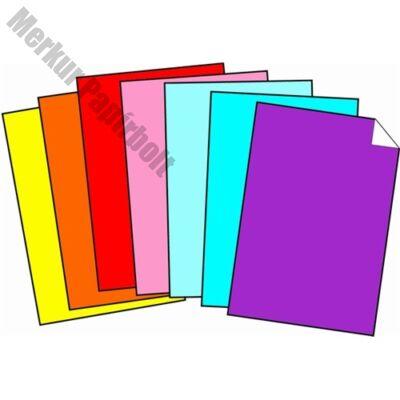Dekorációs karton 50x70 cm 350 gr rózsa 20 ív/csomag
