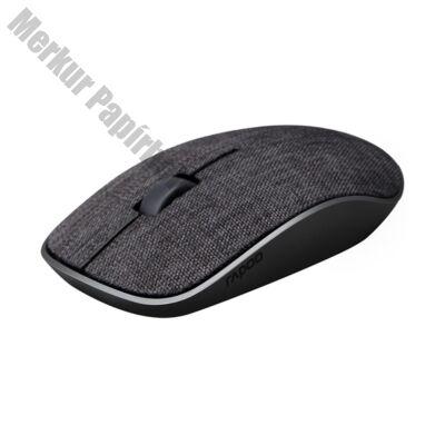 Egér vezeték nélküli RAPOO M200 Plus bluetooth 2,4 GHz fekete