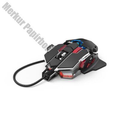 Egér vezetékes HAMA uRAGE XGM 4400-MC USB 10 gombos 4400 DPI fekete