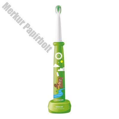 Elektromos gyermek fogkefe SENCOR SOC 0912GR zöld
