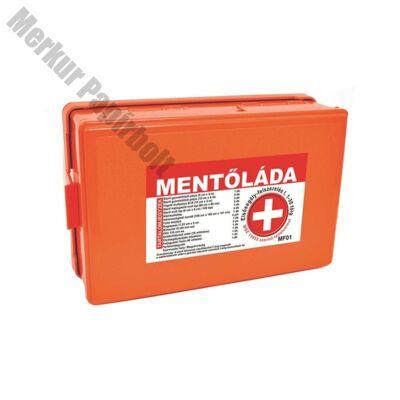 Elsősegély felszerelés MF01 falra szerelhető 1-30 főig