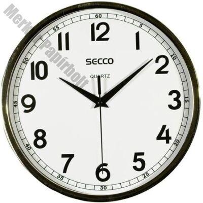 Fali óra SECCO S TS6019-67 24cm króm