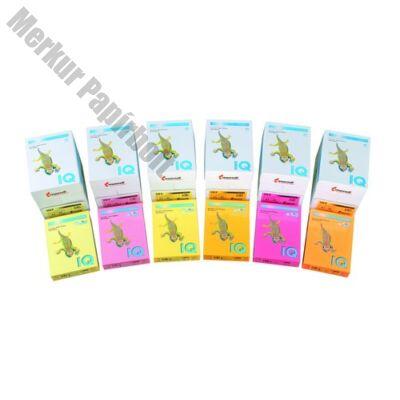 Fénymásolópapír színes IQ Color A/4 80 gr intenzív mix IRB  5x50 ív/csomag