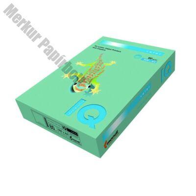 Fénymásolópapír színes IQ Color A/4 80 gr pasztel zöld GN27 500 ív/csomag