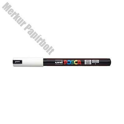 Filctoll UNI Posca PC-1MR fehér