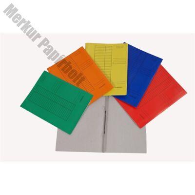 Gyorsfűző papír sárga (250 db/doboz)