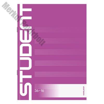 Hangjegyfüzet ICO STUDENT A/5